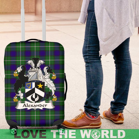 Alexander Tartan Clan Badge Luggage Cover Hj4 Covers