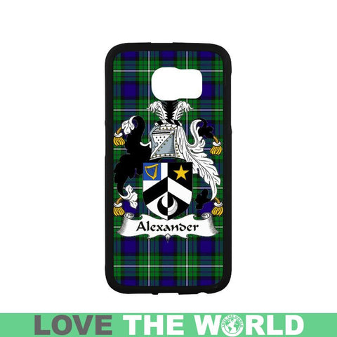 Alexander Tartan Clan Badge Phone Case Na2 One Size / Alexander Na2 1 Rubber Case For Iphone 7 Plus