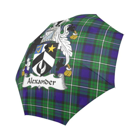 Alexander TARTAN CLAN BADGE AUTO-FOLDABLE UMBRELLA R1