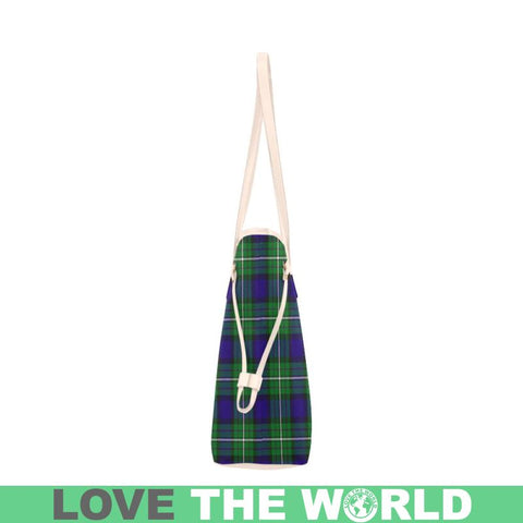 Image of Alexander Tartan Clover Canvas Tote Bag S1 Bags