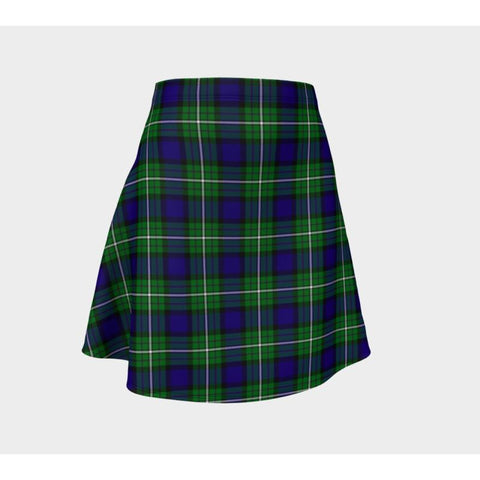 Tartan Skirt - Alexander Women Flared Skirt A9 |Clothing| 1sttheworld