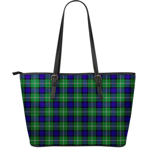 Alexander Tartan Small Leather Tote Bag Nl25 Totes