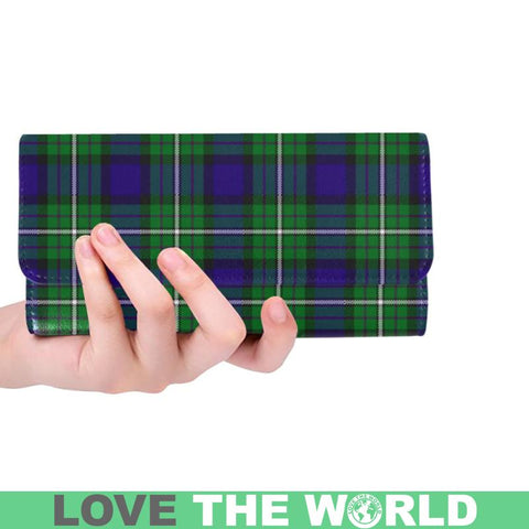 Image of Alexander Tartan Trifold Wallet V4 One Size / Alexander Red Womens Trifold Wallet Wallets