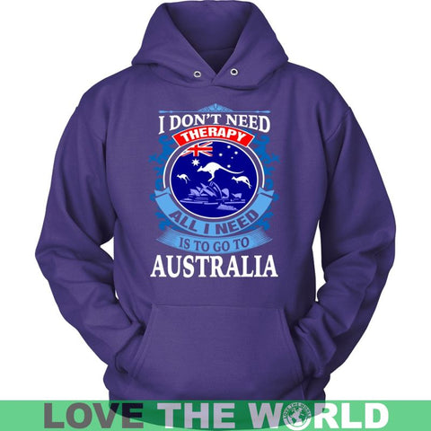 All I Need Is To Go Australia A9 District Unisex Shirt / Red S T-Shirts