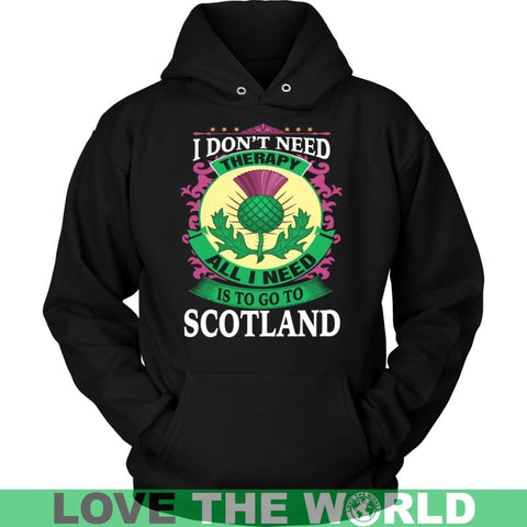 Image of All I Need Is To Go Scotland A9 District Unisex Shirt / Navy S T-Shirts