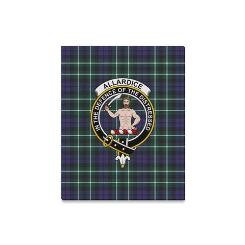Image of Tartan Canvas Print - Allardice Clan | Over 300 Scottish Clans and 500 Tartans