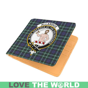 ALLARDICE CLAN TARTAN MEN WALLET A3