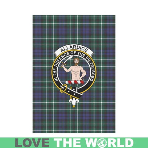 Allardice Tartan Flag Clan Badge K7