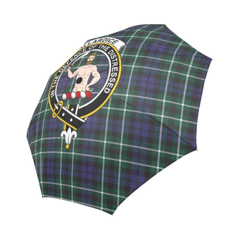 Allardice TARTAN CLAN BADGE AUTO-FOLDABLE UMBRELLA R1