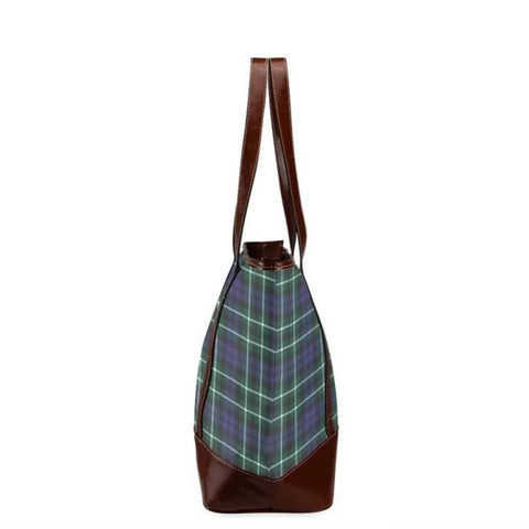 Allardice Tartan Clan Badge Tote Handbag Hj4 Handbags