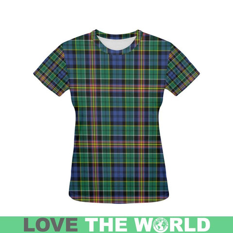 Tartan T-shirt - Allison| Tartan Clothing | Over 500 Tartans and 300 Clans