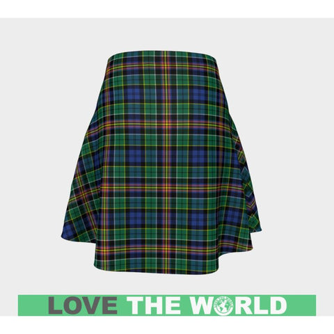 Tartan Skirt - Allison Women Flared Skirt A9 |Clothing| 1sttheworld