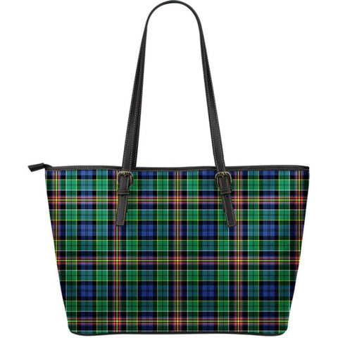 Allison Tartan Large Leather Tote Bag Nl25 Totes