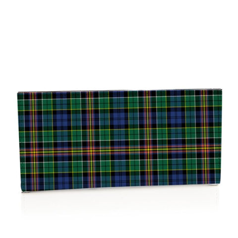 Allison Tartan Long Leather Wallet S1 Style-1 Bifold Wallets