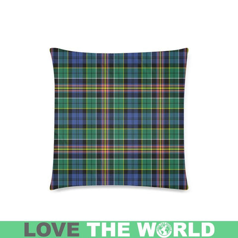 Image of Allison Tartan Pillow Case Hj4 One Size / Allison Custom Zippered Pillow Cases 18X 18 (Twin Sides)