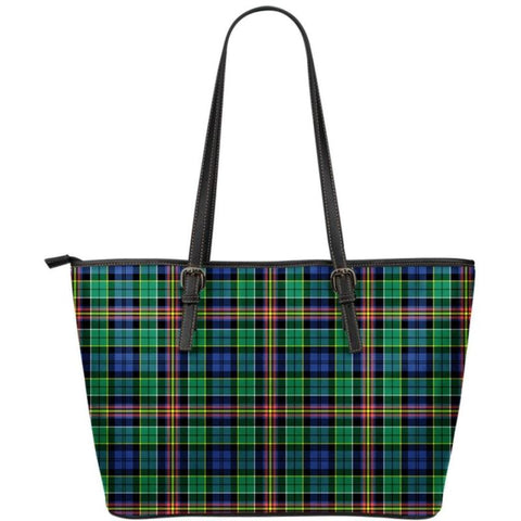 Allison Tartan Small Leather Tote Bag Nl25 Totes