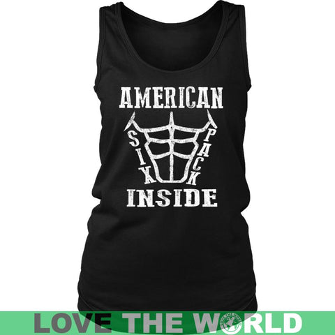 Image of American Six Pack Inside District Unisex Shirt / Royal Blue S T-Shirts
