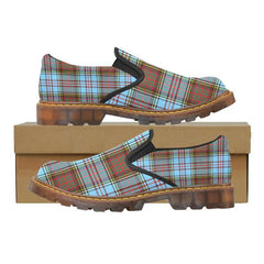Tartan Martin Loafer - Anderson Ancient A9