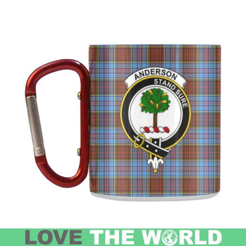 Image of Tartan Mug - Clan Anderson Tartan Insulated Mug A9 | Love The World