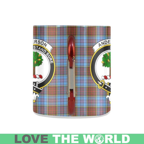 Tartan Mug - Clan Anderson Tartan Insulated Mug A9 | Love The World