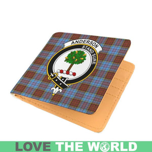 ANDERSON CLAN TARTAN MEN WALLET A3