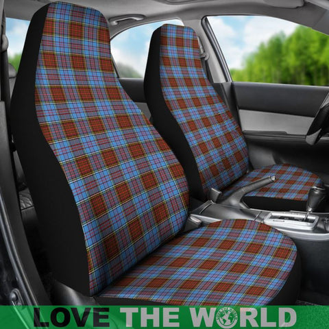 Image of Anderson Modern Tartan Car Seat Cover Nl25