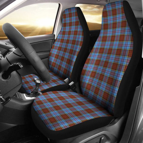 Image of Anderson Modern Tartan Car Seat Cover