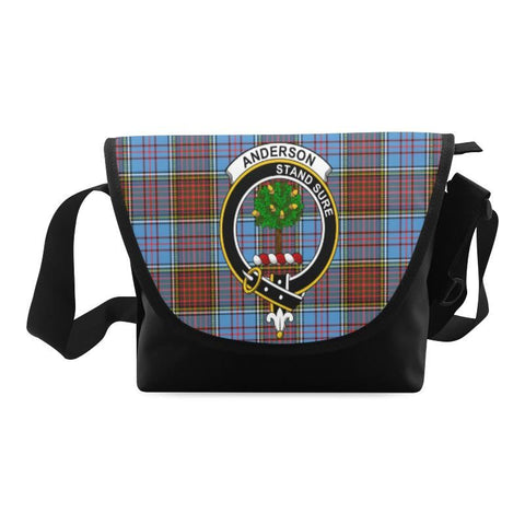 ANDERSON MODERN TARTAN CLAN BADGE CROSSBODY BAG NN5