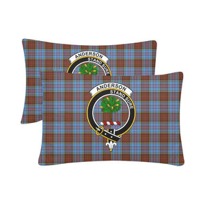 Anderson Modern Tartan Clan Badge Rectangle Pillow Hj4 One Size / Anderson Modern Custom Pillow Case