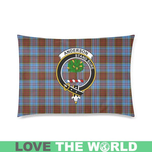 Anderson Modern Tartan Clan Badge Rectangle Pillow Cover HJ4