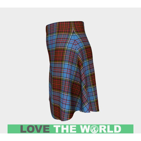 Tartan Skirt - Anderson Modern Women Flared Skirt A9 |Clothing| 1sttheworld
