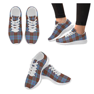 Anderson Modern Tartan Running Shoes Hj4 Us6 / Anderson Modern White Womens Running Shoes (Model