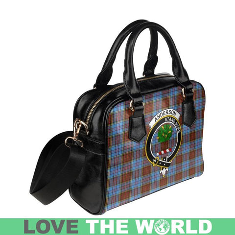 Image of Anderson Modern Tartan Shoulder Handbag - Bn Pu Handbags
