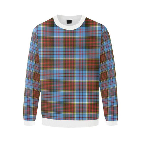 Image of Anderson Modern Tartan Sweatshirt Nn5 |Clothing| 1sttheworld