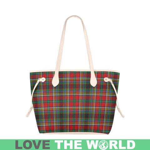 Anderson Of Arbrake Tartan Clover Canvas Tote Bag S1 Bags