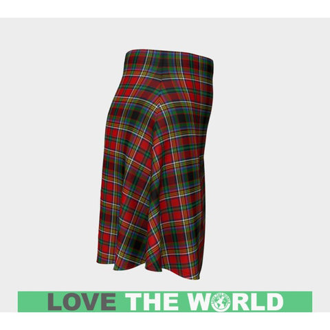 Tartan Skirt - Anderson Of Arbrake Women Flared Skirt A9 |Clothing| 1sttheworld