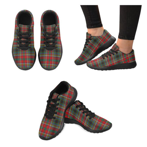 Anderson Of Arbrake Tartan Running Shoes Hj4 Us5 / Anderson Of Arbrake Black Mens Running Shoes