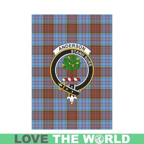 Anderson Tartan Flag Clan Badge K7