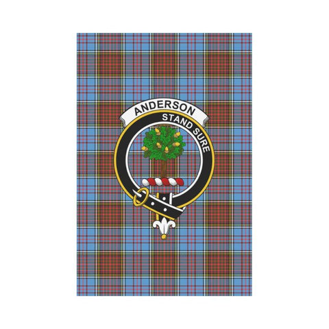 Anderson Tartan Flag Clan Badge