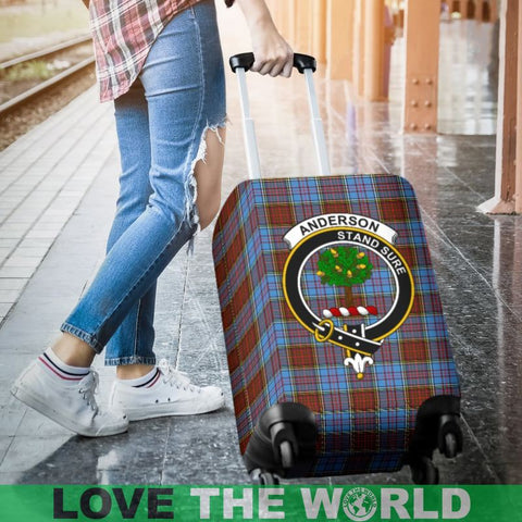 Anderson Tartan Clan Badge Luggage Cover Hj4 Covers