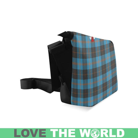 Angus Ancient Tartan Clan Badge Crossbody Bag Ha8 Bags