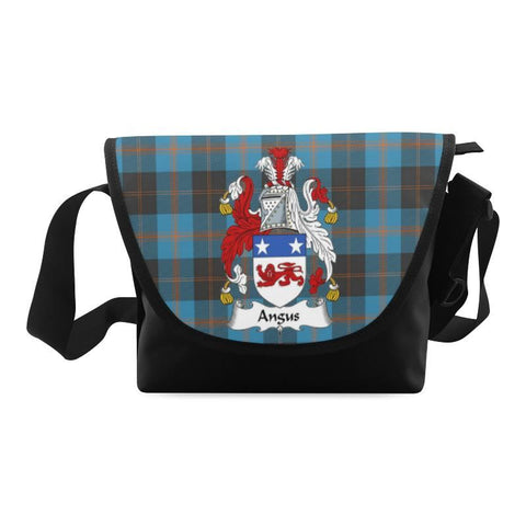 ANGUS ANCIENT TARTAN CLAN BADGE CROSSBODY BAG NN5