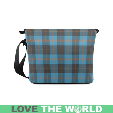 Image of Angus Ancient Tartan Clan Badge Crossbody Bag Ha8 Bags