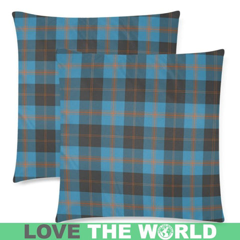 Angus Ancient Tartan Pillow Case Hj4 One Size / Angus Ancient Custom Zippered Pillow Case 18X18(Twin