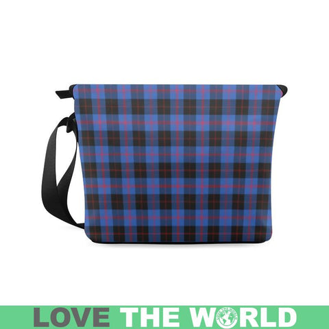 Image of Angus Modern Tartan Crossbody Bag Nl25 Bags