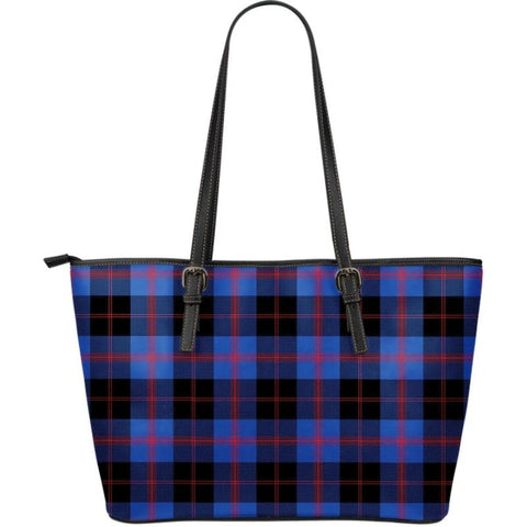 Angus Modern Tartan Handbag - Large Leather Tartan Bag Th8 |Bags| Love The World