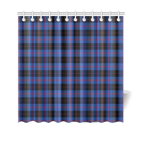 Image of Tartan Shower Curtain - Angus Modern | Bathroom Products | Over 500 Tartans