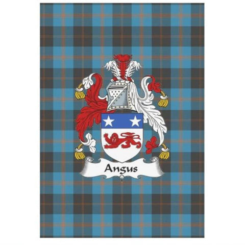 Angus Tartan Flag Clan Badge