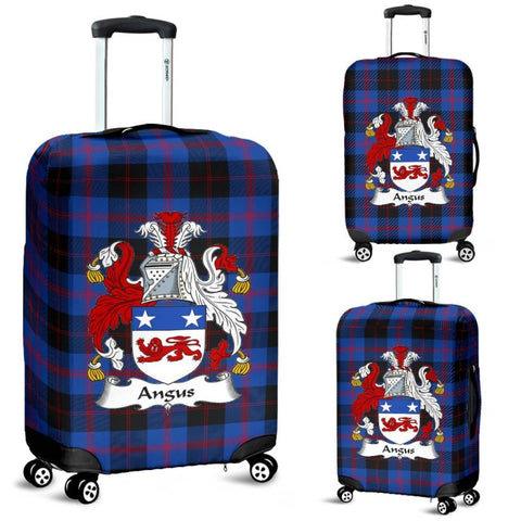 Angus Tartan Clan Badge Luggage Cover Hj4 Covers