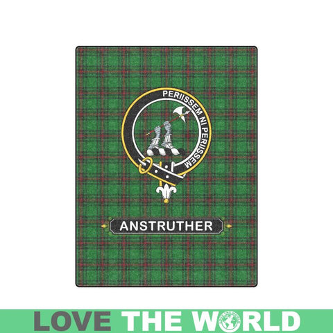 Image of Anstruther Clan Tartan Blanket Dn1 One Size / 40X50 Blankets